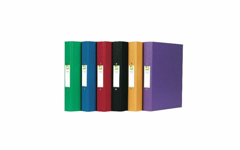 Polypropylene A4 Ring Binders 25mm Spine Assorted Colours- Pack of 10