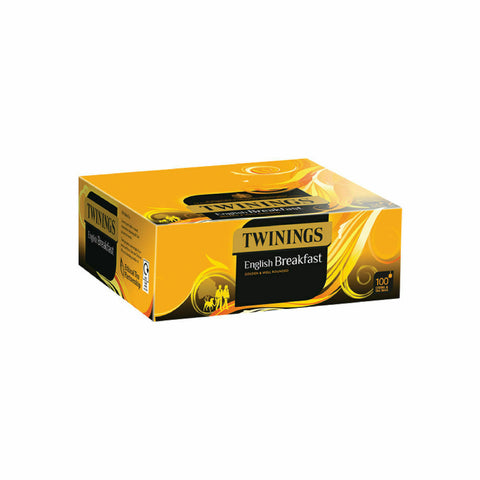 Twinings English Breakfast String and Tag- Pack of 100