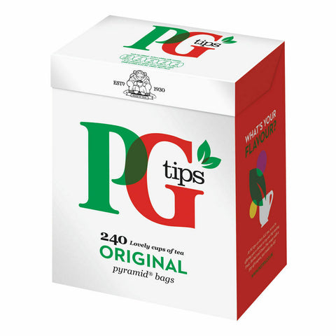 PG Tips Pyramid Tea Bags- Pack of 240