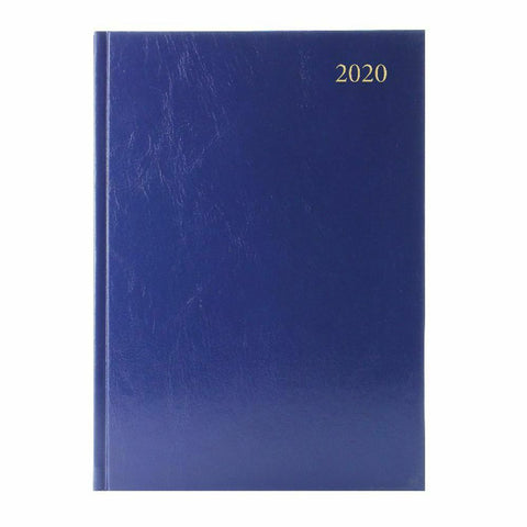 Hard Backed Diary 2020 Week To View- Colour And Size Choice