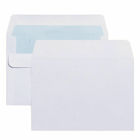 Envelopes C6 90gsm Quality Self Seal White- Box of 1000