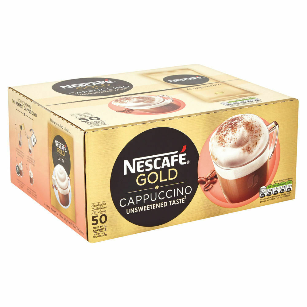 Nescafe Gold Instant Nescafe Gold Instant- Pack Of 50 Sachets