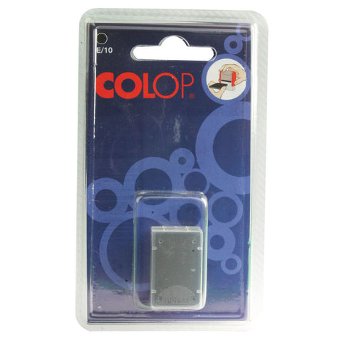 Colop E/10 Replacement Ink Black- Pack Of 2