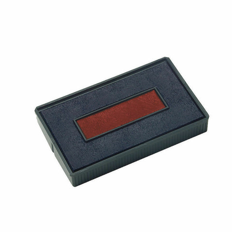 COLOP E/200/2 Replacement Ink Pad Blue/Red -Pack of 2