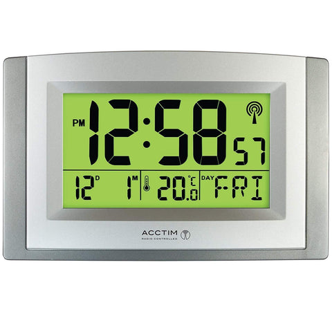 Acctim Stratus Large Wall, Desk, Signal Radio Controlled Smartlite Clock