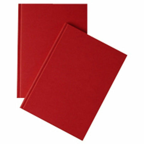 Notebook A-Z Indexed A5 160 Pages Red Cover- Quantity Choice