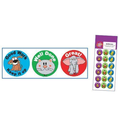 Sticker Solutions Praise Reward Stickers Pack of 54