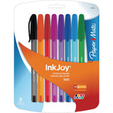 Papermate Inkjoy Assorted Colours Ballpoint Pens Pack 8