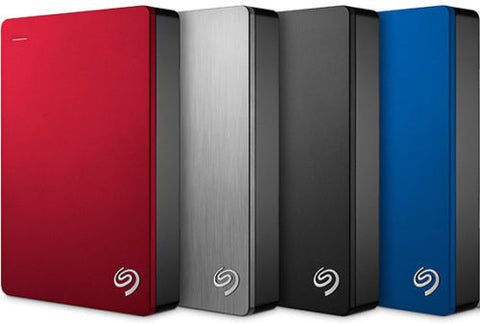 "Seagate 5TB Backup Plus 2.5"" Portable External Hard Drive USB 3.0 & 2.0"