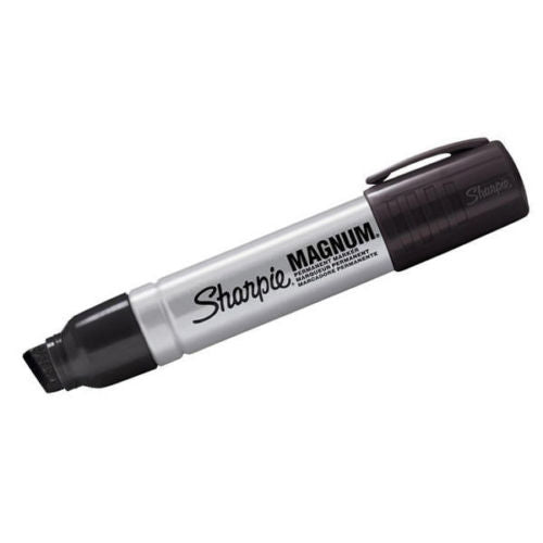 Sharpie Magnum Extra Large Industrial Chisel Tip Permanent Marker Pens