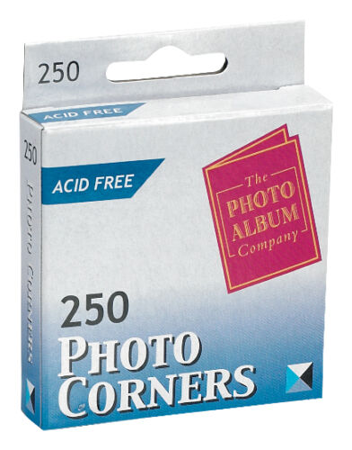 Photo Corners Transparent- Pack of 1000