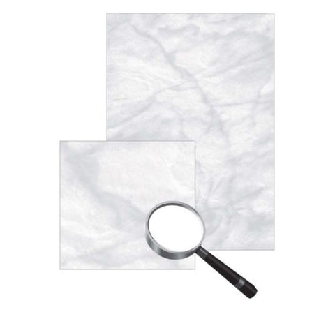 Marble Paper A4 grey, 90gsm Certificate Parchment 100 Sheets