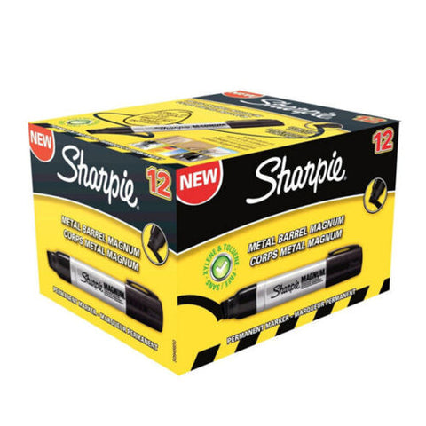 Sharpie Magnum Permanent Marker Black-Pack of 12
