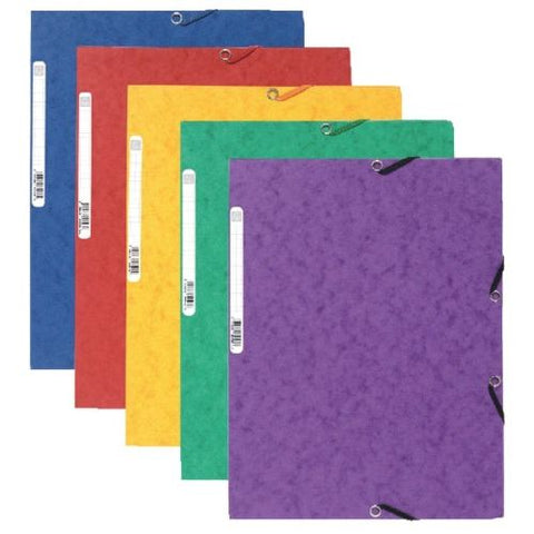 Europa Assorted Portfolio Files (Pack of 10) Filing Folders