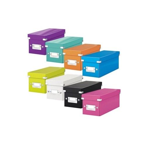 Leitz WOW CD Click And Store Storage Box- Colour Choice