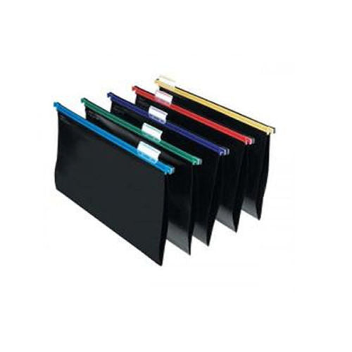 Snopake HangGlider Suspension Files Folders A4 Assorted -Pack of 25