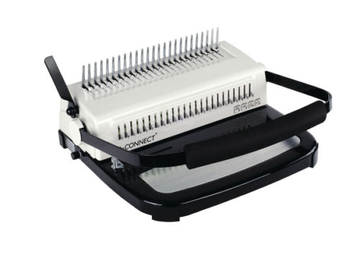 Q Connect Comb Binding Machine 450 Sheet Capacity Heavy Duty