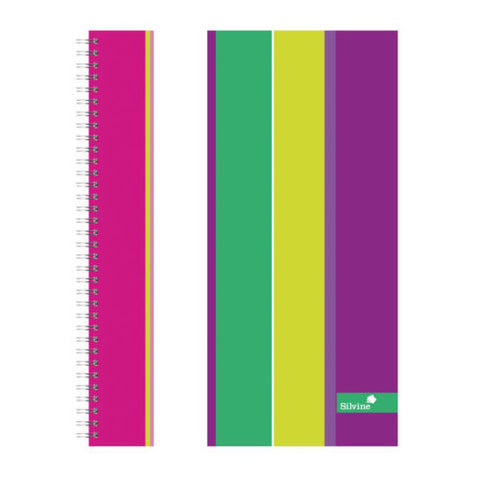 Silvine A4+ Laminated Notebooks- Pack of 4