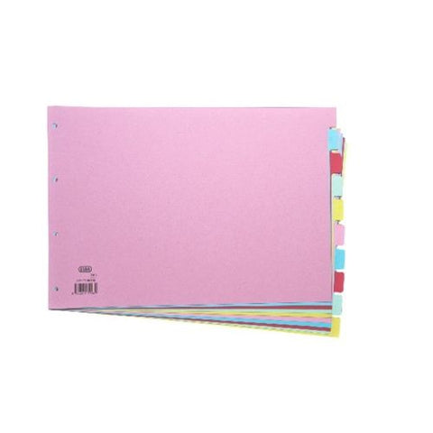 Elba A3 Card Dividers- 10 Part