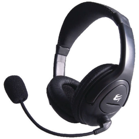 Computer Gear HP512 Multimedia Stereo Headset With Boom Microphone