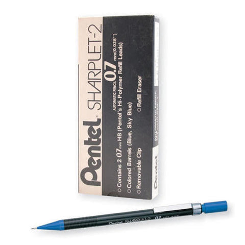 Pentel Sharplet Auto Pencils- Pack Of 12- Choice Of Lead Size