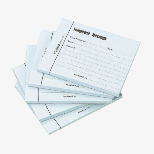 Guildhall Telephone Message Pad 100 Messages- Quantity Choice