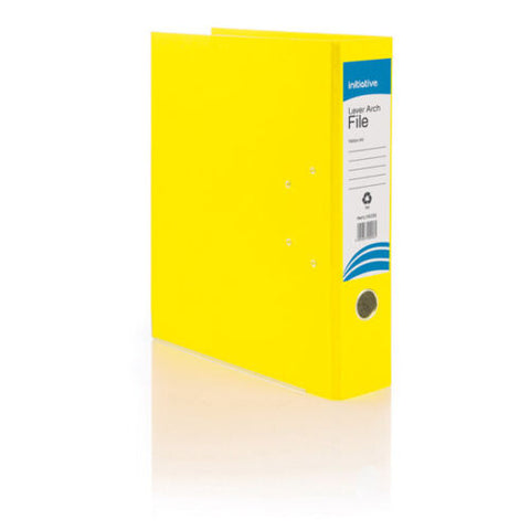 Pack Of 10 A4 Lever Arch Files 70mm Polypropelene- Colour Choice