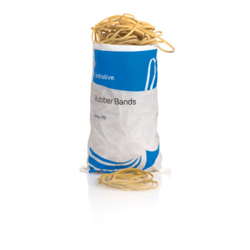 Large 454g Bag Of Elastic Rubber Bands - Choose Your Preferred Size