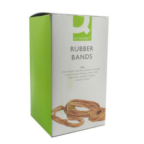 Giant 500g Box Of Elastic Rubber Bands - Choose Your Preferred Size