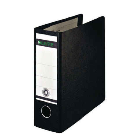 Leitz 180 Lever Arch File A5 Upright Black- Pack of 5 Files
