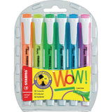 Stabilo Swing Cool Highlighter Pen Wallet of 6- Assorted 275/6