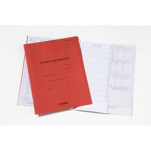 Guildhall School Year Attendance Register Book x 1