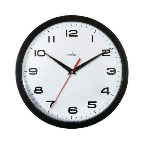 Acctim Aylesbury Quartz Wall Clock- Colour Choice
