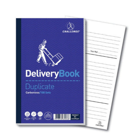 A5 Challenge duplicate delivery books 100 sets Carbonless- Pack of 5