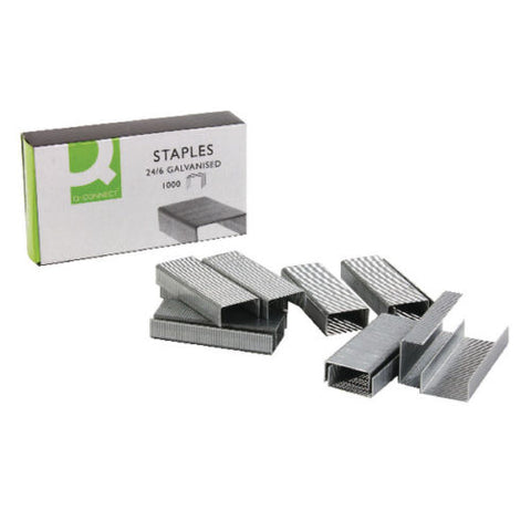 Q-Connect Staples 24/6mm- Quantity Choice