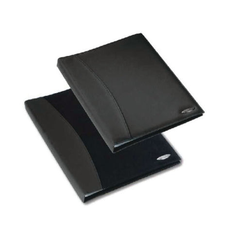 Rexel Soft Touch Smooth A4 Display Book 24 Pocket- Black