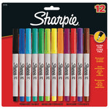 Sharpie Assorted Ultra Fine Marker Pens- Pack Of 12