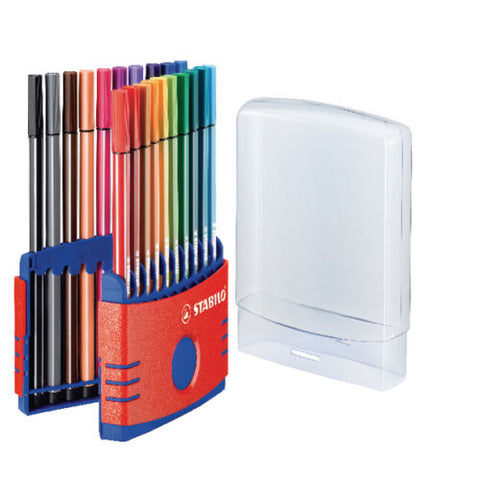 Stabilo Fineliner Colorparade Pen 68 Point - 20 Colors Sets