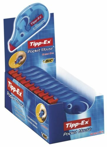 Tipp-Ex Correction Roller Mouse- Pack of 10