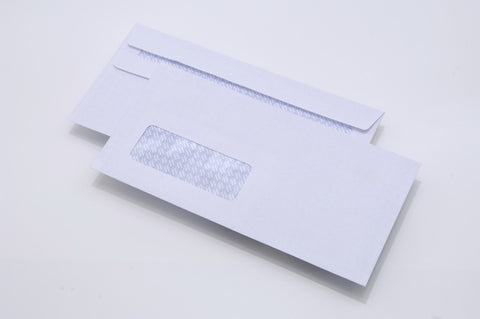 Envelopes DL Window 80gsm Self Seal White Box 1000