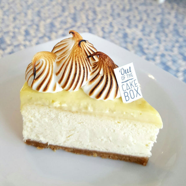 Lime Meringue Cheesecake