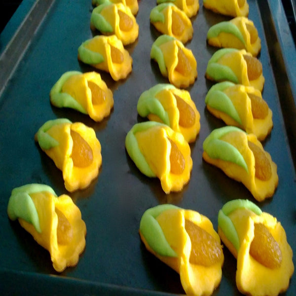 Tart Teratai (Open Pineapple Tarts)
