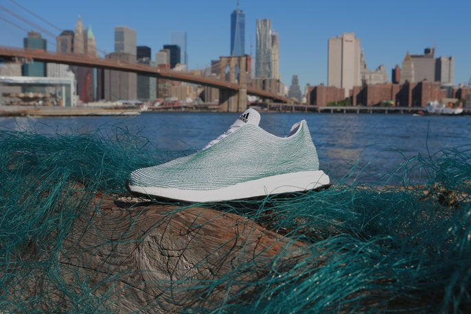 adidas parley for the oceans baskets plastique