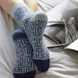 Chaussettes Labrinto Azul