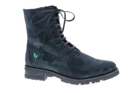 Combat Black bottines