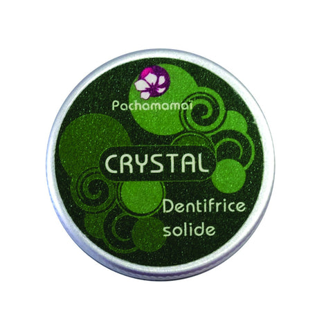 "Dentifrice Solide ""Crystal"""