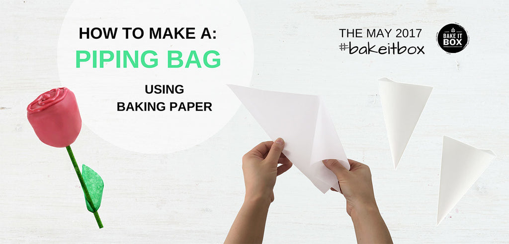 How to make your own DIY piping bag using baking paper