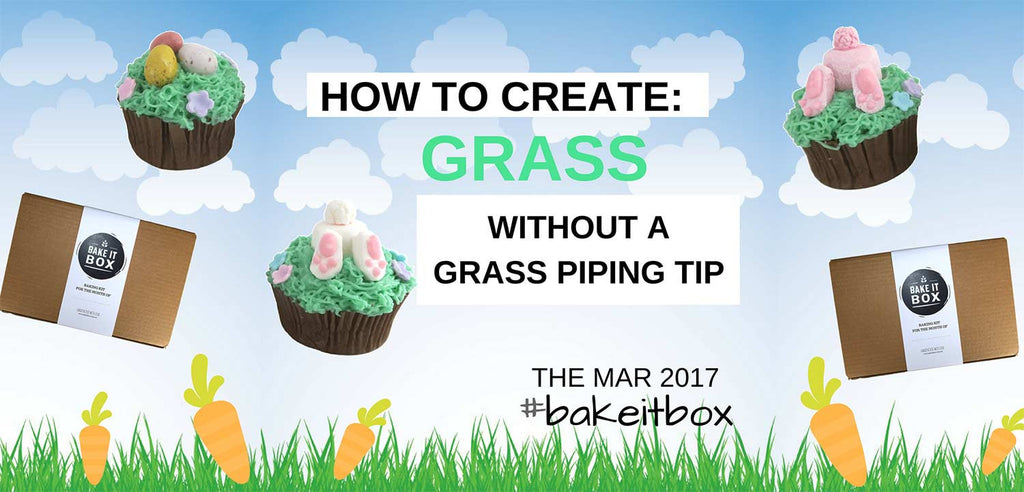 How to pipe grass without a grass piping tip [Part 1]