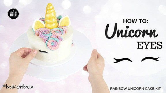 Make with us: Unicorn Eyes Tutorial