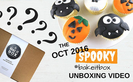 Halloween cupcakes | Baking kit unboxing